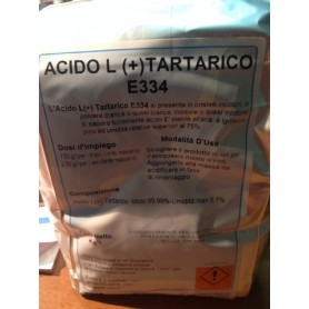 Acido Tartarico Essed. (Conf da 1 Kg)
