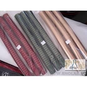 * Capsula PVC color Rosso Porpora  (conf. 100 pz) per bordolese Standard /Europea etc  bocca cetie