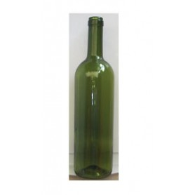 * n.232 Bottiglie Bordolese Standard 360 gr (EXPO) 0,75 lt  verde uvag h29,3 cm PRIMA QUALITA\' PRODOTTA IN ITALIA