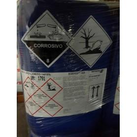 * Sodio Ipoclorito al 15% (tanica 25 lt)