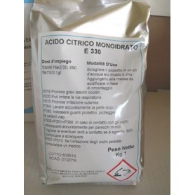 Acido Citrico EsseD. (Conf. 1Kg)
