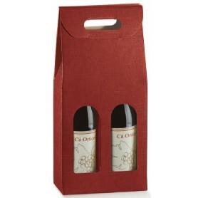 Astuccio 2 Bottiglia SETA BORD.  (Scotton)