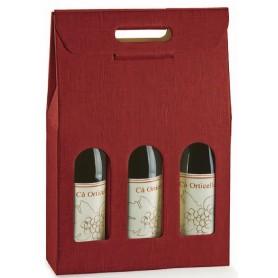 Astuccio 3 Bottiglia SETA BORD.  (Scotton)