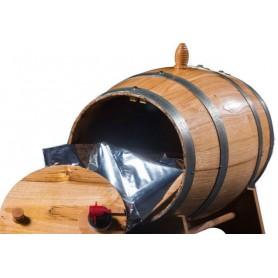 Botte  Lt. 15  in legno di Castagno porta Bag in Box