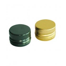 Capsule Metalliche 35x18 Oro/Prefil.  (per Dama Vetro 5 lt)