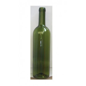 * Bordolese Standard 0,75 lt  400gr verde uvag h29,3 cm  (Termopacco da 20 btg)