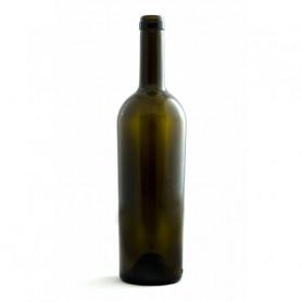 * n.203 Bottiglie Bordolese  Passion TS 75 Cl Uvag+ (Conica leggera  scura) 500 gr PRIMA QUALITA\' PRODOTTO ITALIANO