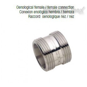 Giunzione enologico femmina Dn 25