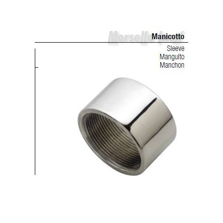Manicotto filettato gas Dn 11/2