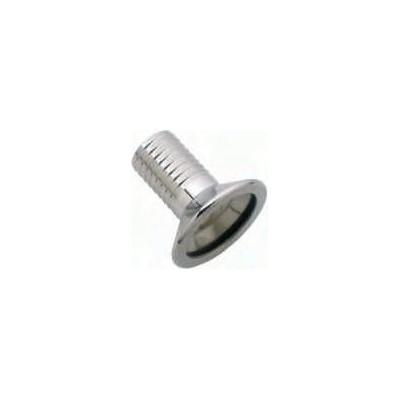 Portagomma di Riduzione a morsetto o garolla  DN 50x35