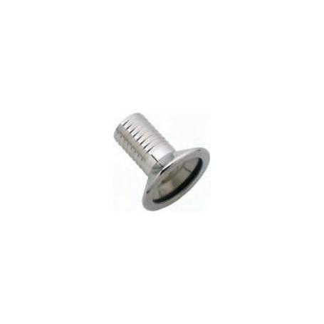 Portagomma di Riduzione a morsetto o garolla  DN 50x40