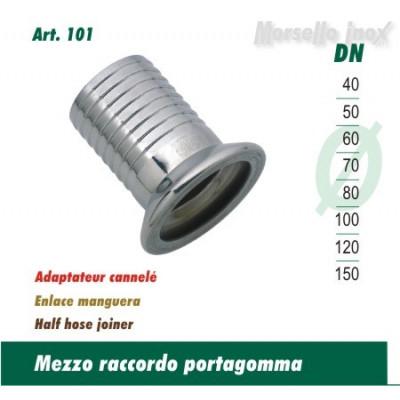 Raccordo  Portagomma A Morsetto Dn. 150