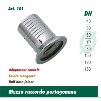 Raccordo Portagomma A Morsetto Gar 40-Ptg 40