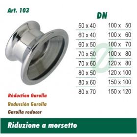 Riduzione A Morsetto 50x40