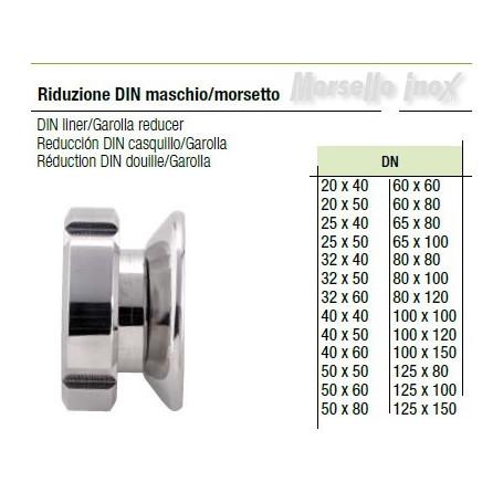 Riduzione Din Maschio/Mors. 65x80