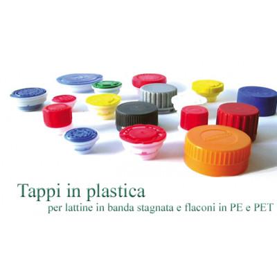 Tappo INVAT per Contenitori In Banda Stagnata da  5 e 10 lt.