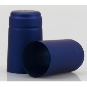* Capsula PVC color Blu  (conf. 100 pz) per bordolese Standard /Europea etc  bocca cetie