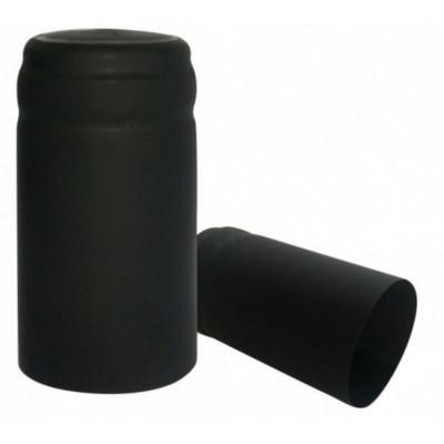 * Capsula PVC color Nero  (conf. 100 pz) per bordolese Standard /Europea etc  bocca cetie