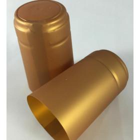 * Capsula PVC color Oro  (conf. 100 pz) per bordolese Standard /Europea etc  bocca cetie